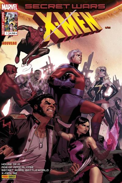 Couverture Secret wars : X-Men tome 1
