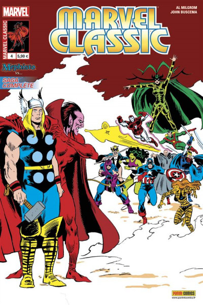 Couverture Marvel Classic V2 tome 4