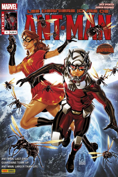 Couverture Ant-Man tome 4
