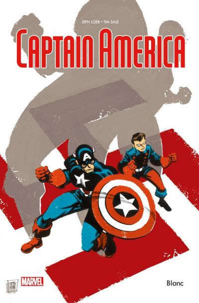 Couverture Captain America Blanc
