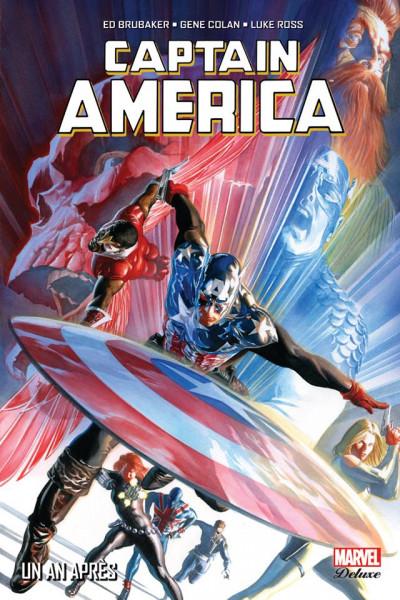 Couverture Captain America - Un an après