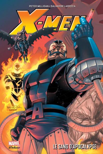 Couverture X-Men - Le sang d'apocalypse