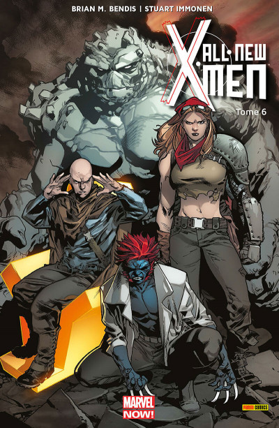Couverture All-New X-Men tome 6