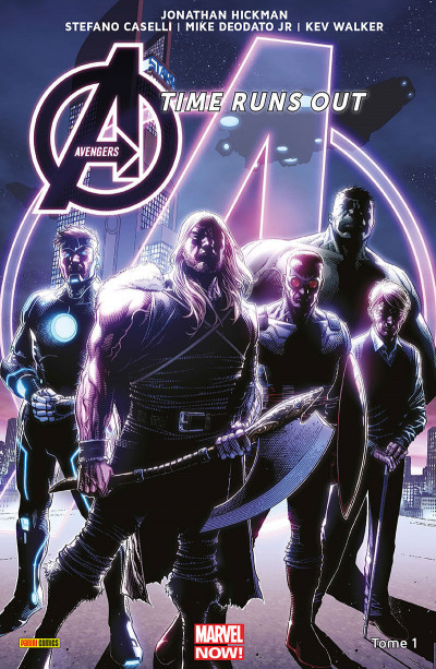 Couverture Avengers - Time runs out tome 1