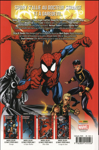 Dos Ultimate Spider-Man tome 10