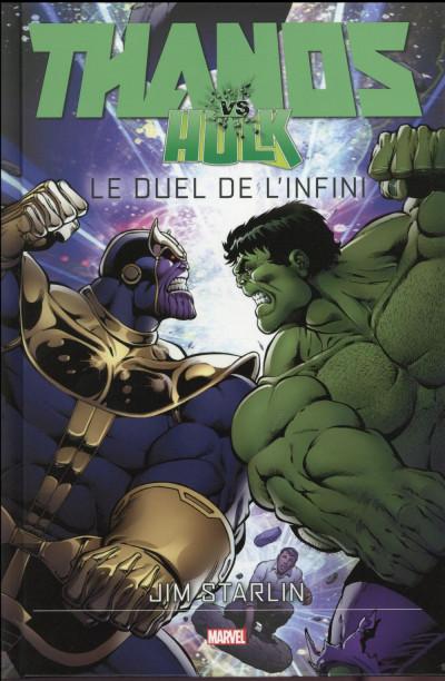 Couverture Thanos vs Hulk