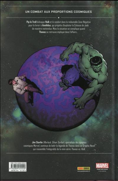 Dos Thanos vs Hulk