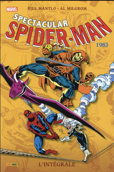 Couverture Spectacular Spider-Man - Intégrale 1983