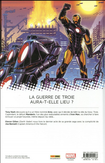 Dos Iron-Man tome 4