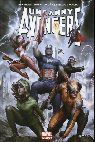 Couverture Uncanny Avengers tome 5