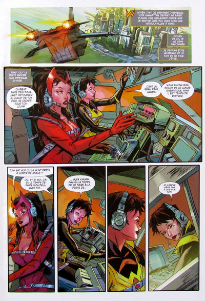 Page 1 Uncanny Avengers tome 5