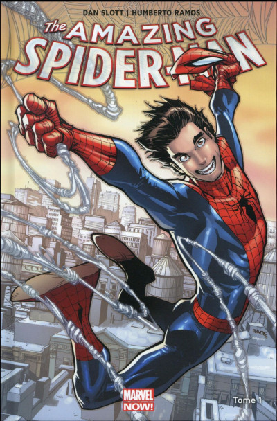 Couverture Amazing Spider-Man tome 1