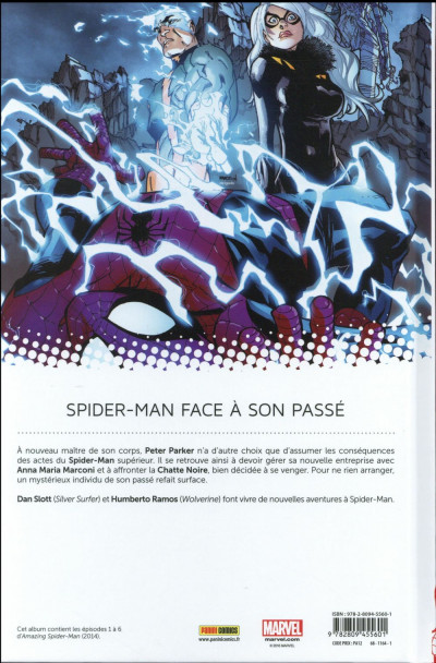 Dos Amazing Spider-Man tome 1