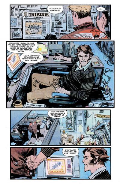 Page 0 Chrononauts tome 1