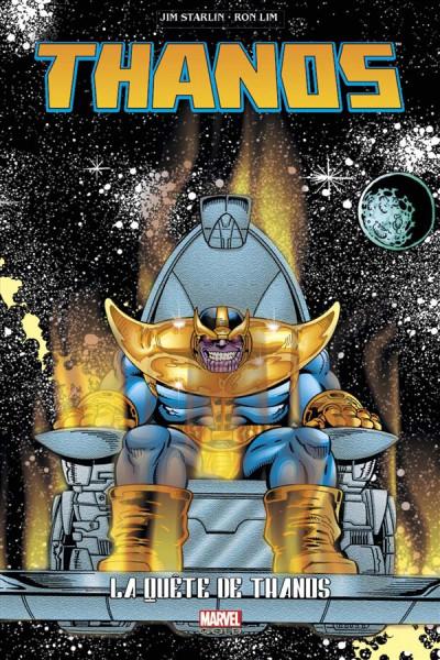 Couverture Thanos quest