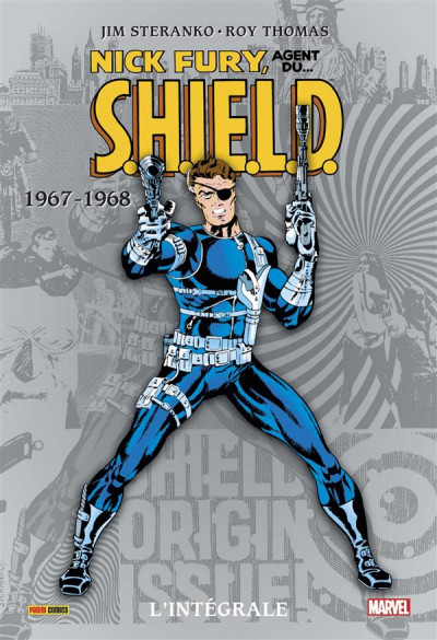 Couverture Nick Fury - intégrale tome 2 - 1967-1968