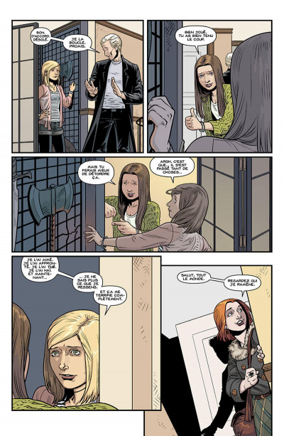 Page 0 Buffy contre les vampires - saison 10 tome 4