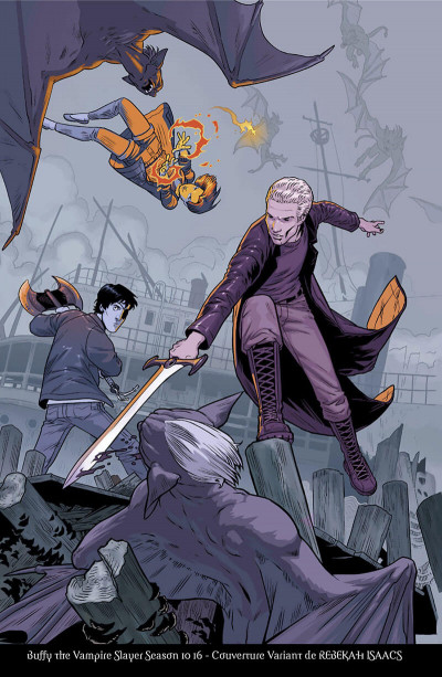 Page 5 Buffy contre les vampires - saison 10 tome 4