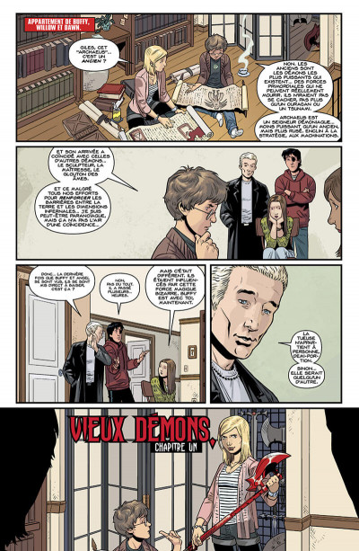 Page 6 Buffy contre les vampires - saison 10 tome 4