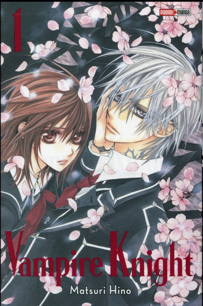Couverture Vampire knight - édition double tome 1