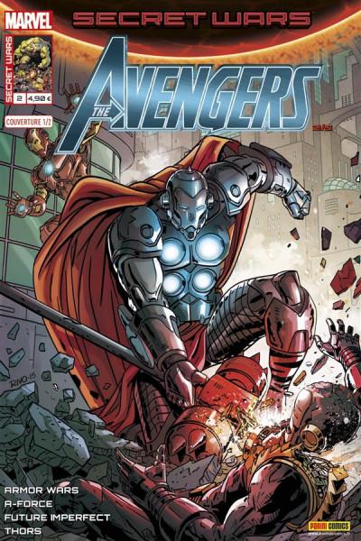 Couverture Secret wars : Avengers tome 2 - Cover de Rivoche (1/2)