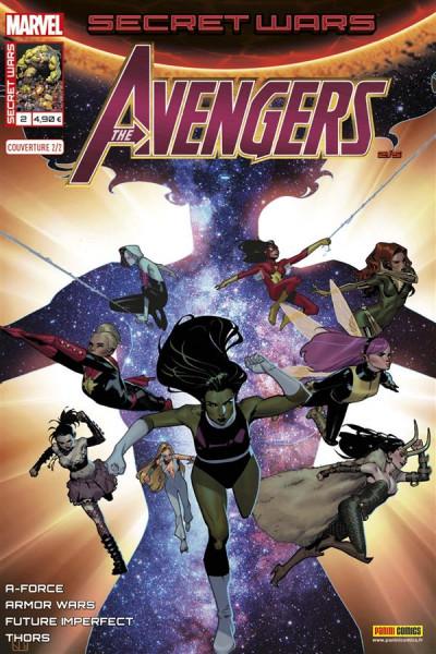 Couverture Secret wars : Avengers tome 2 - Cover de Molina (2/2)