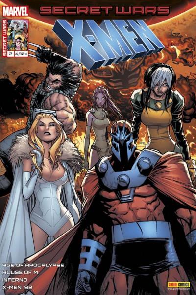 Couverture Secret wars : X-Men tome 2