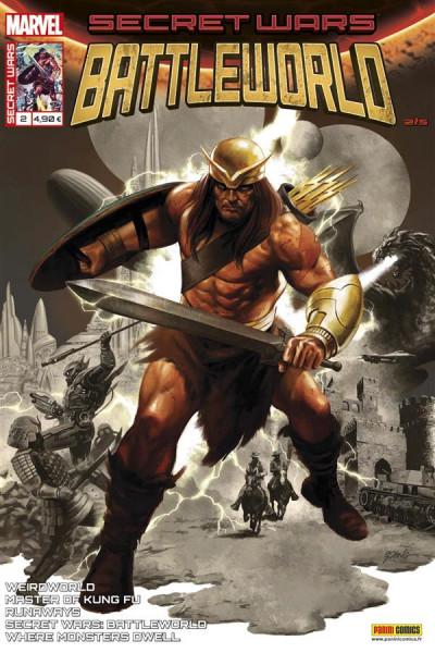 Couverture Secret wars : Battleworld tome 2