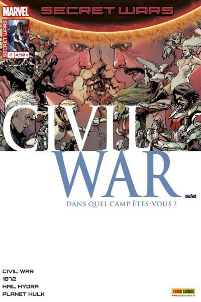 Couverture Secret wars : Civil war tome 2