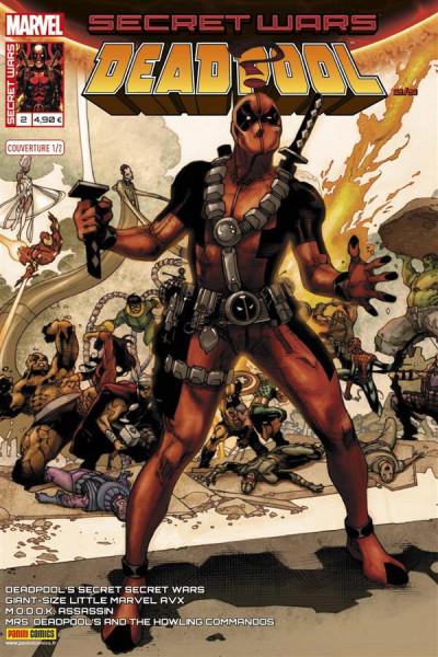 Couverture Secret wars : Deadpool tome 2 - Cover de Bianchi (1/2)
