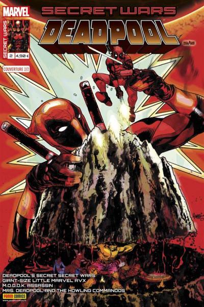 Couverture Secret wars : Deadpool tome 2 - Cover par Harrys (2/2)