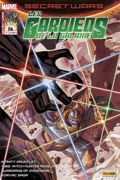 Couverture Secret wars : Les gardiens de la galaxie tome 2