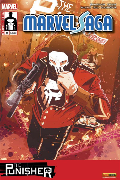 Couverture Marvel saga V2 tome 11