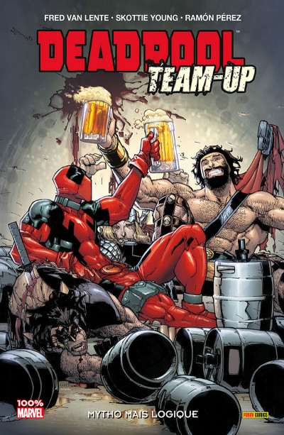 Couverture Deadpool team-up tome 3