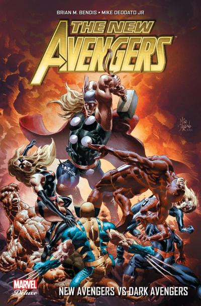 Couverture New avengers - L'âge des héros tome 2