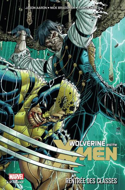 Couverture Wolverine et les X-Men tome 3