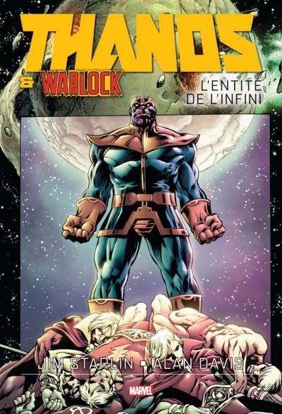 Couverture Thanos et Warlock - L'entité de l'infini
