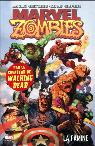 Couverture Marvel zombies tome 1