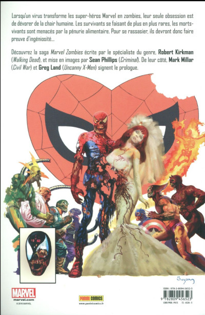 Dos Marvel zombies tome 1