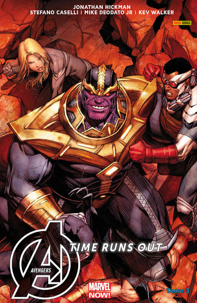 Couverture Avengers - Time runs out tome 3