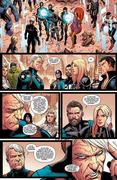 Page 0 Avengers - Time runs out tome 3