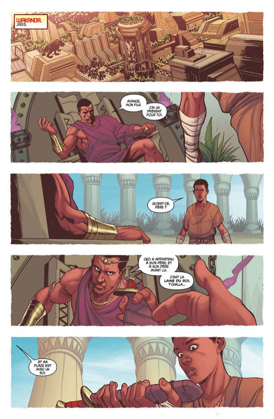 Page 7 Avengers - Time runs out tome 3