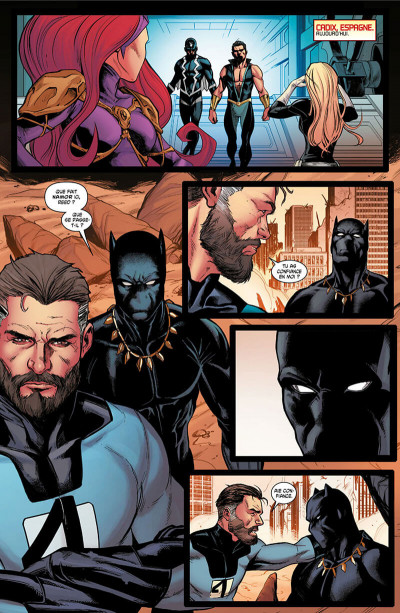 Page 8 Avengers - Time runs out tome 3
