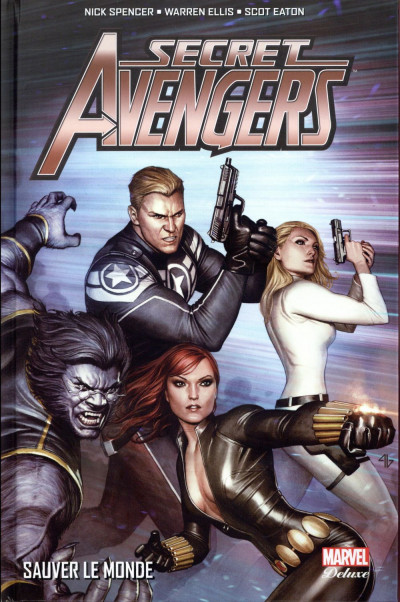 Couverture Secret Avengers tome 2