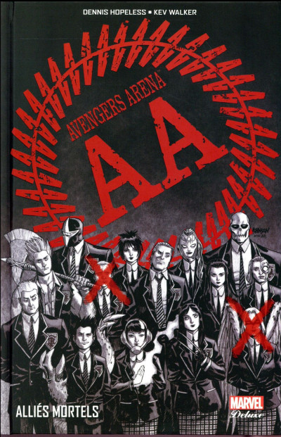 Couverture Avengers arena tome 1