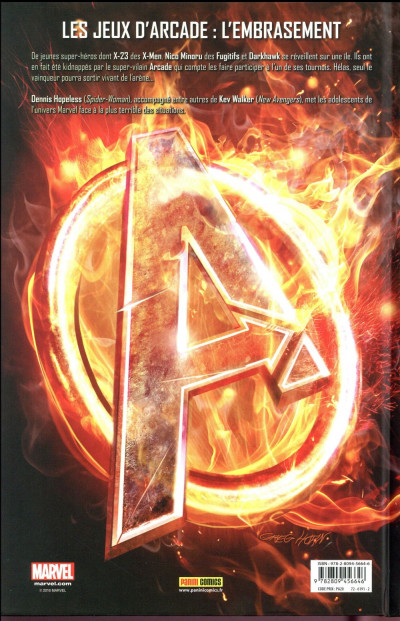 Dos Avengers arena tome 1