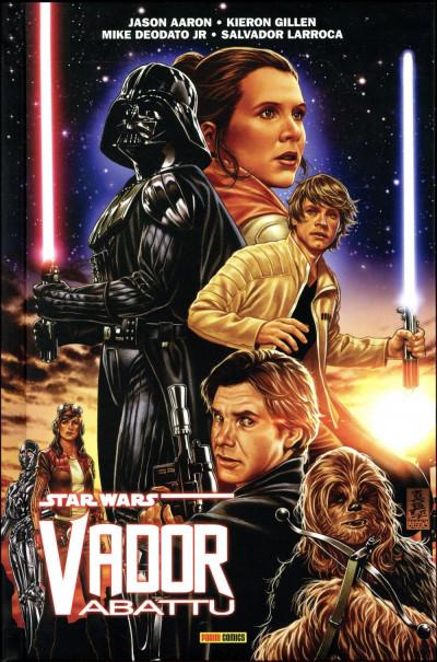 Couverture Star Wars - Vador abattu