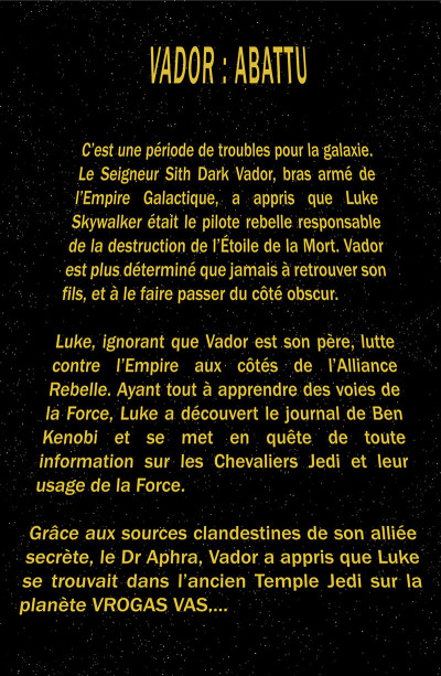 Page 6 Star Wars - Vador abattu