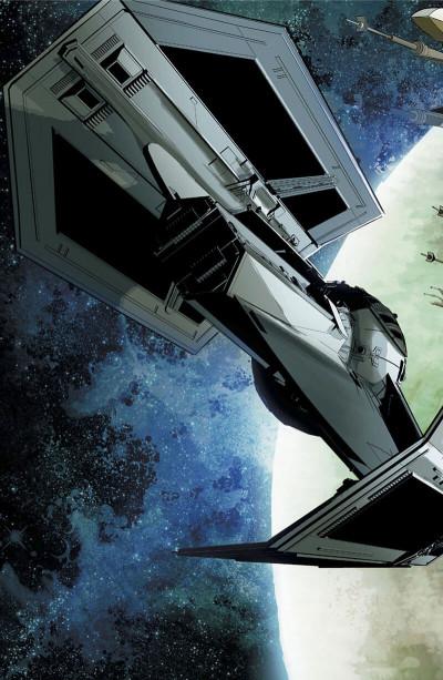 Page 9 Star Wars - Vador abattu