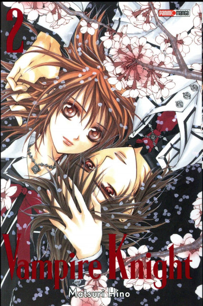 Couverture Vampire knight - édition double tome 2